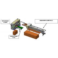 Автоматическая линия сращивания по длине Lesspoj ECONOMIK 3/ VH-160-6