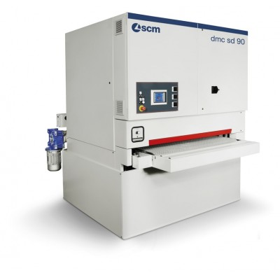 Автоматический широколенточный калибровально-шлифовальный станок SCM DMC SD 90 RT 135