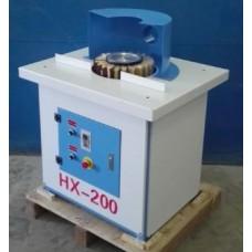 Вертикальный шлифовальный станок с лепестковым барабаном и осцилляцией HX-200