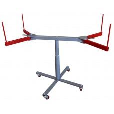 Одноступенчатый покрасочный стол, сборный